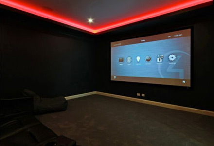 Dolby Atmos 7.1.2 Home Cinema with Control4 and Krix Speakers